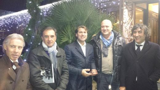 Daniele Zoratto, Stefano Bonometti, Florin Raducioiu, Antonio Vettore, Luciano De Paola
