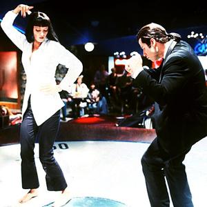 John Travolta e Uma Thurman