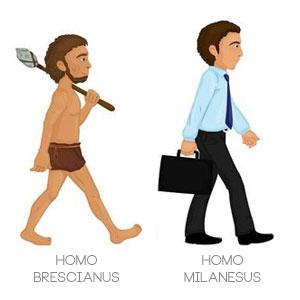 Homo Brescianus e Homo Milanesus