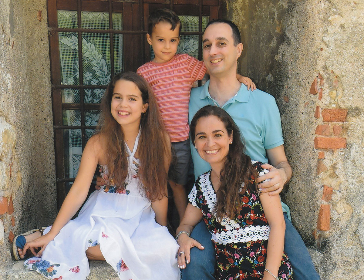 Marco Cevoli family
