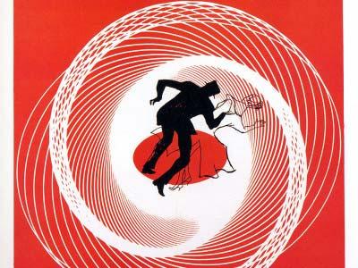 Vertigo, uno dei capolavori di A. Hitchcock intitolato in italiano La donna che visse due volte (1958)