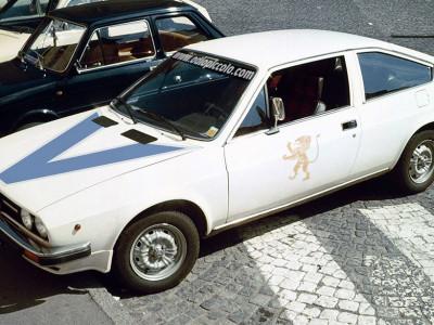 Alfasud Coupe Gino