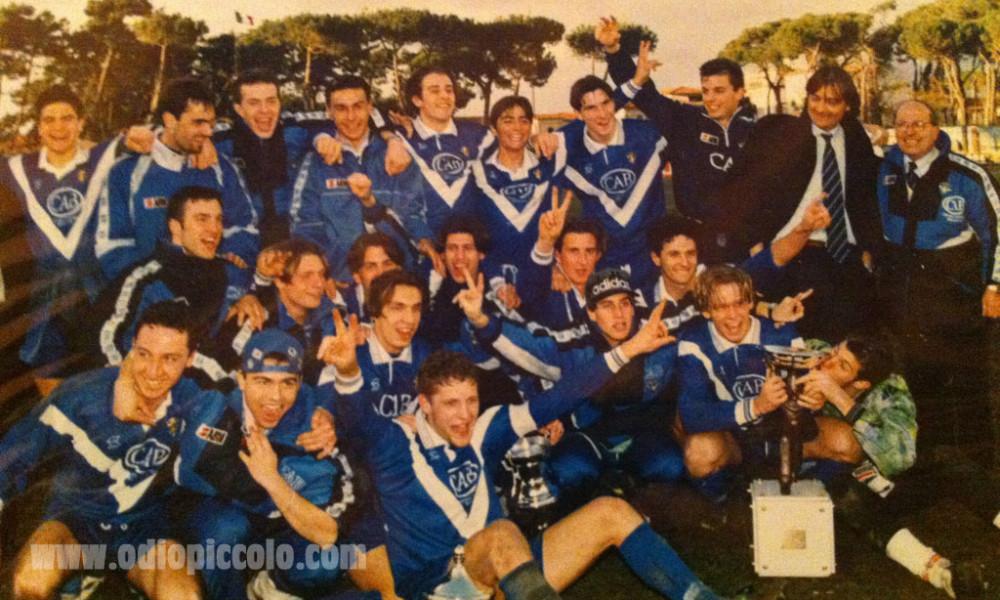 Nel 1996 il Brescia vince il torneo di Viareggio
