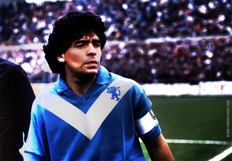 Quando Maradona (D10S) segnò al Rigamonti