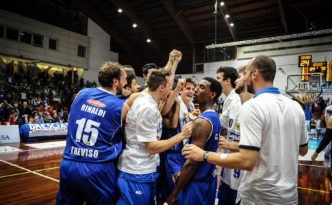Basket Brescia Leonessa, primo stop casalingo: Treviso passa 84-78 al San Filippo