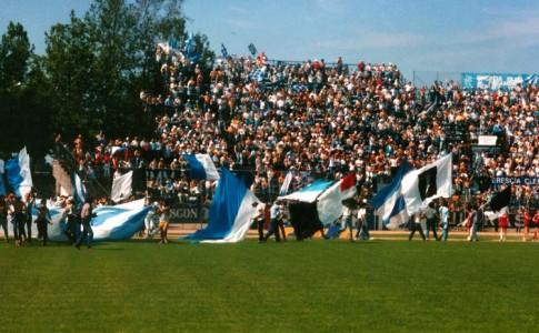 Cesena Brescia 85/86 gemellaggio in campo