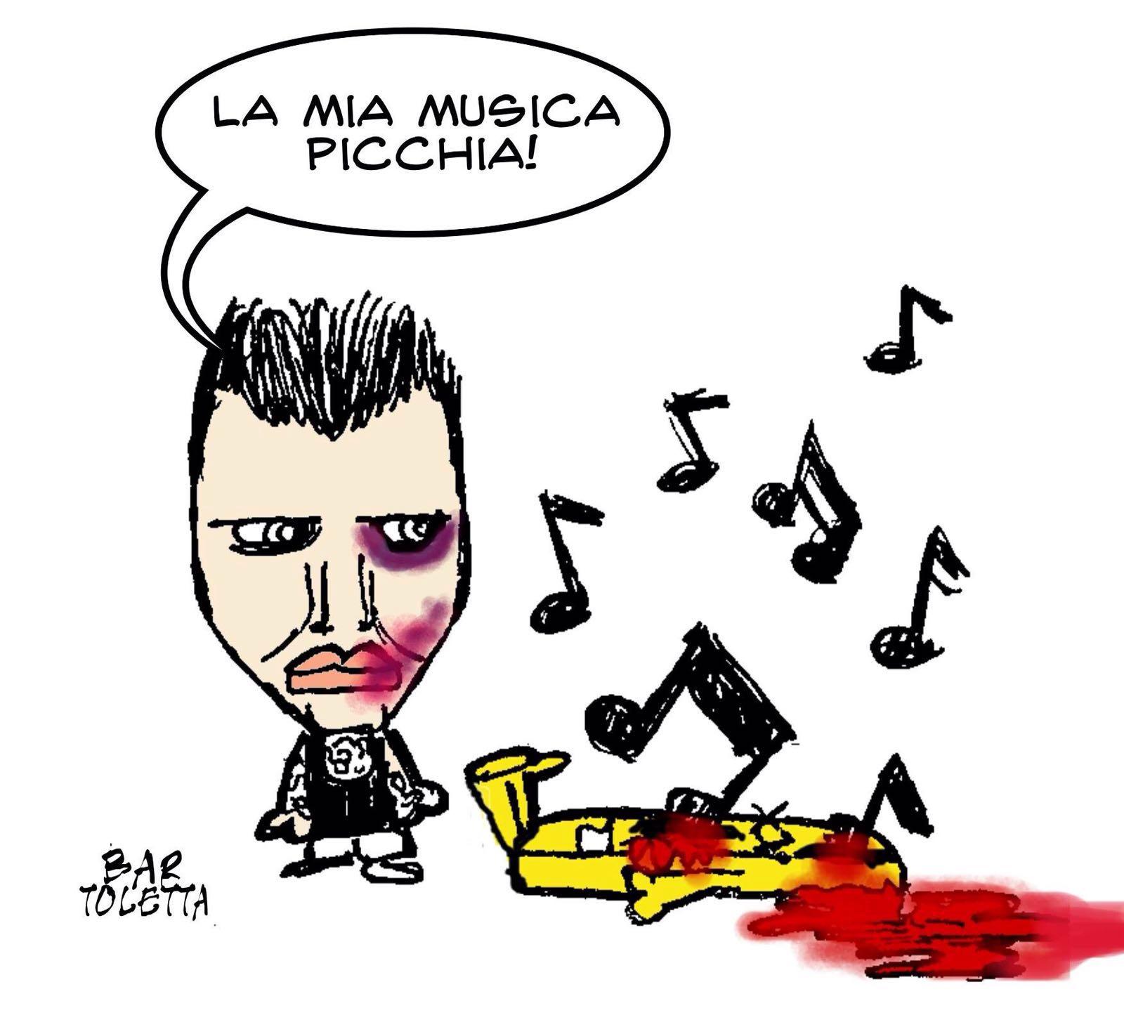 La mia musica picchia!
